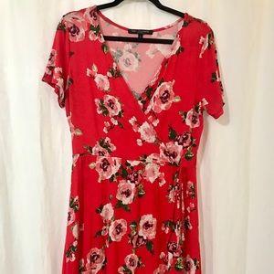 One ❤️ Clothing Faux Wrap Dress